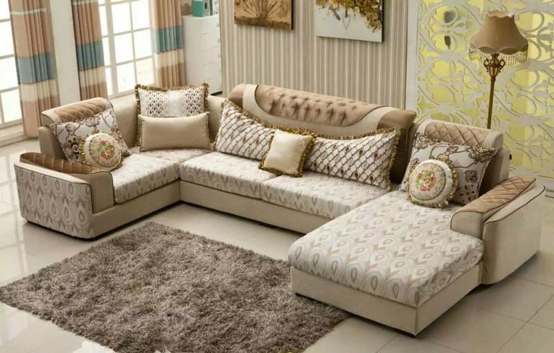 Promotion Living Room Furniture, Fabric Sofa (2199)