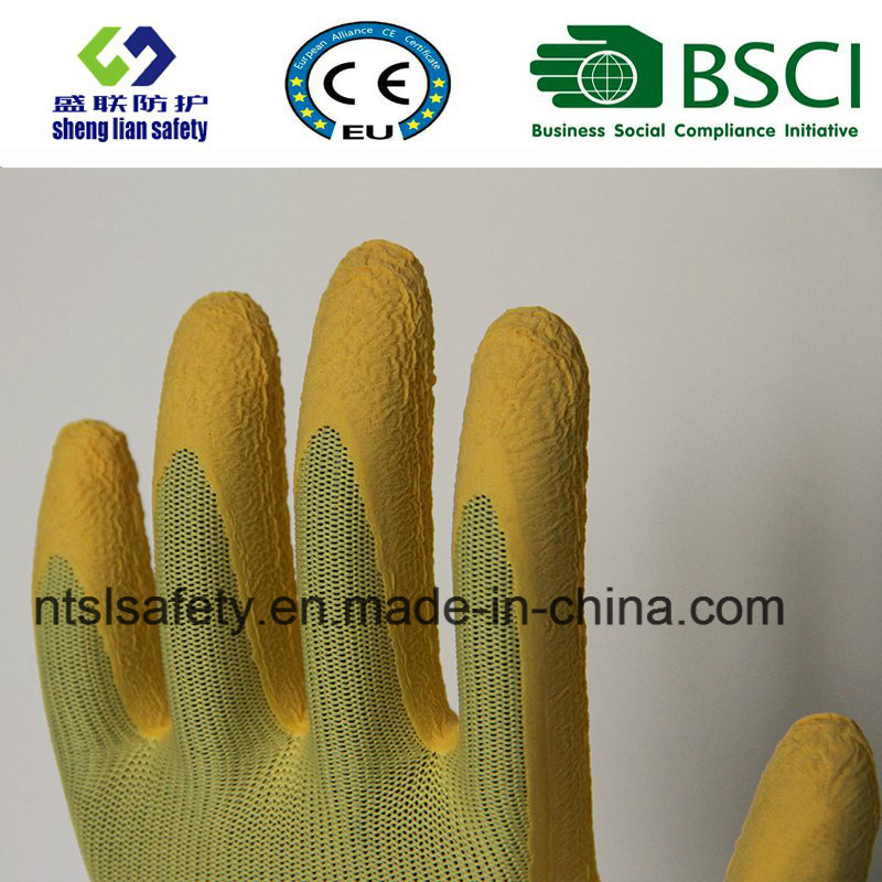 Super Soft Foam Latex Coated Gardening Work Gloves