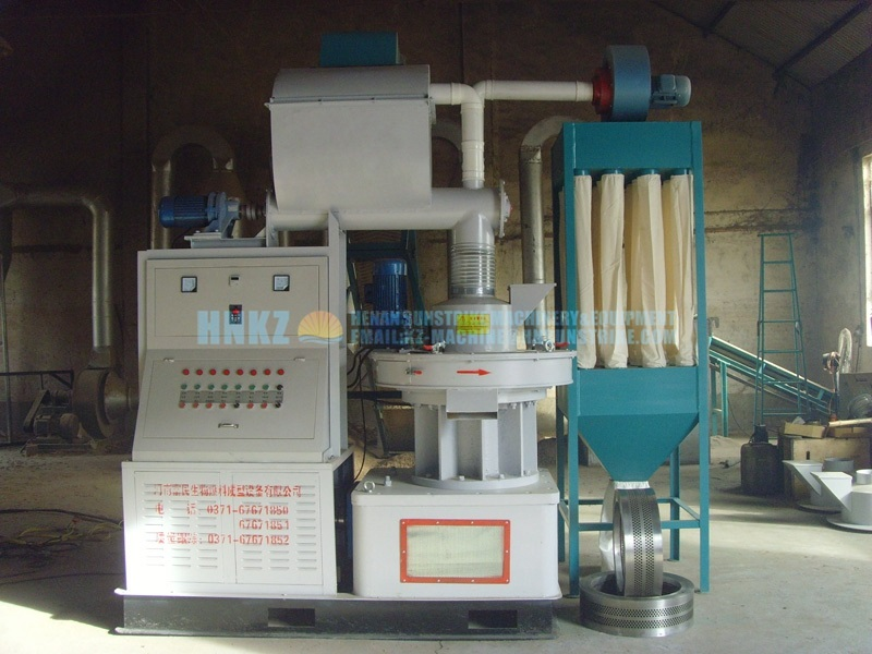 Energy-Saving Vertical Ring-Die Pellet Machine