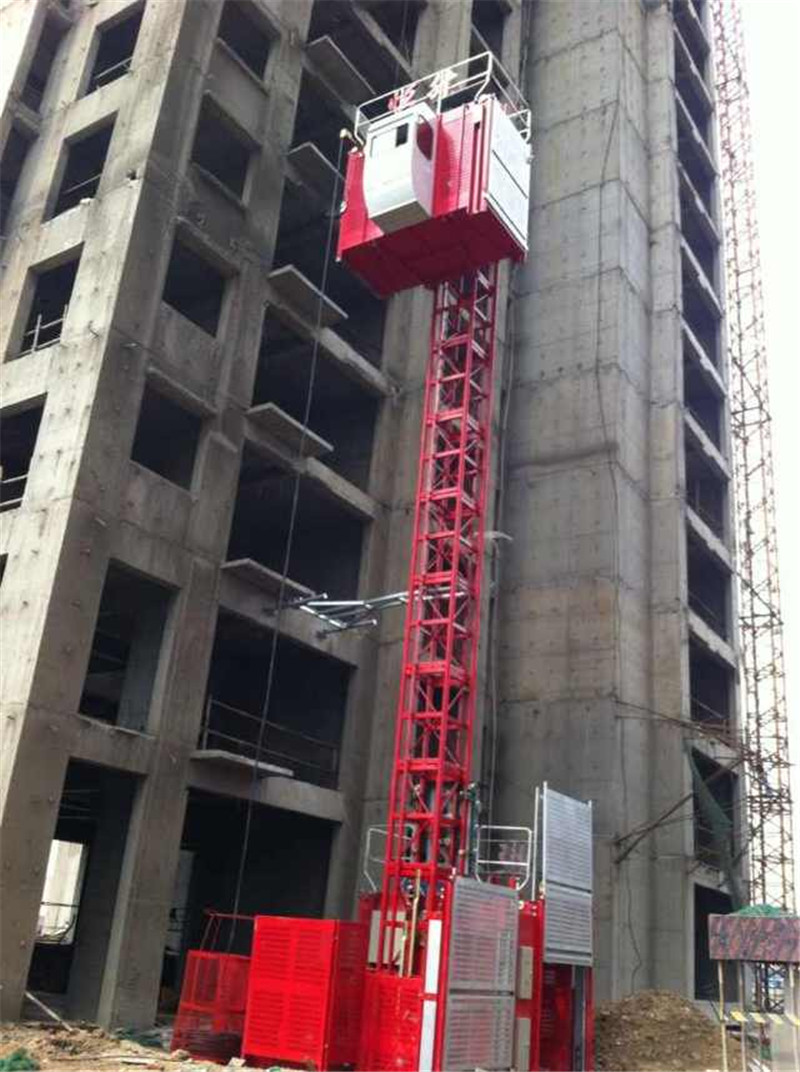 Construction Elevator in China for Sale by Hstowercrane