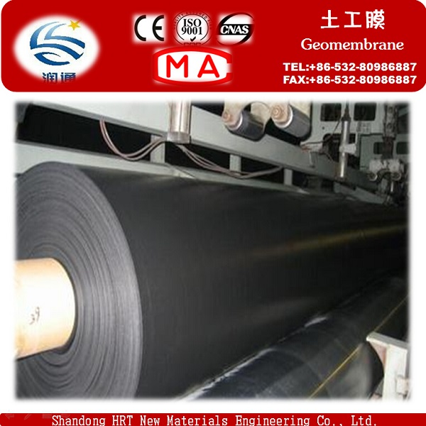 Low Price Textured Smooth HDPE Geomembrane for Salt Pond