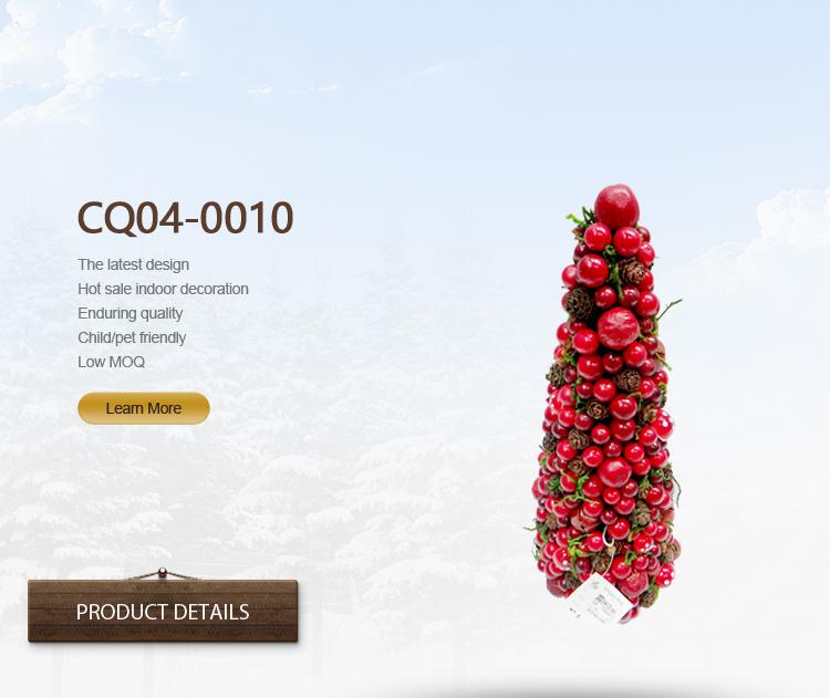 H32cm Special Design Plastic Artificial Cherry Blossom Tree Wreath Artificial Flower