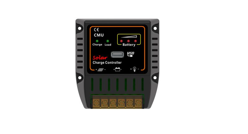 PWM 12V 24V 10A Solar Battery Power System Controller with USB Charger