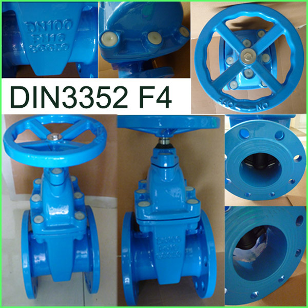 Good Quality DIN Non Rising Stem Gate Valve