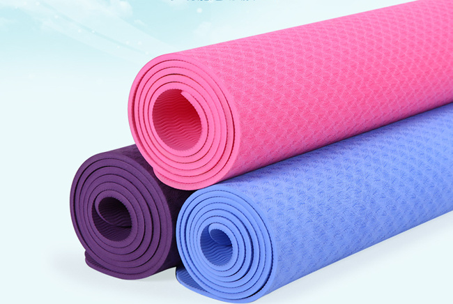 Made in China Eco Friendly Natural Rubber Yoga Mat / Wholesale Gym Equipment NBR Yoga Mat