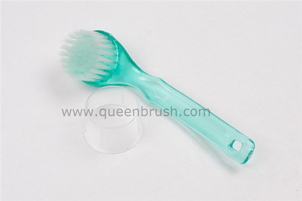 Long Plastic Handle New Style Facial Cleaning Brush