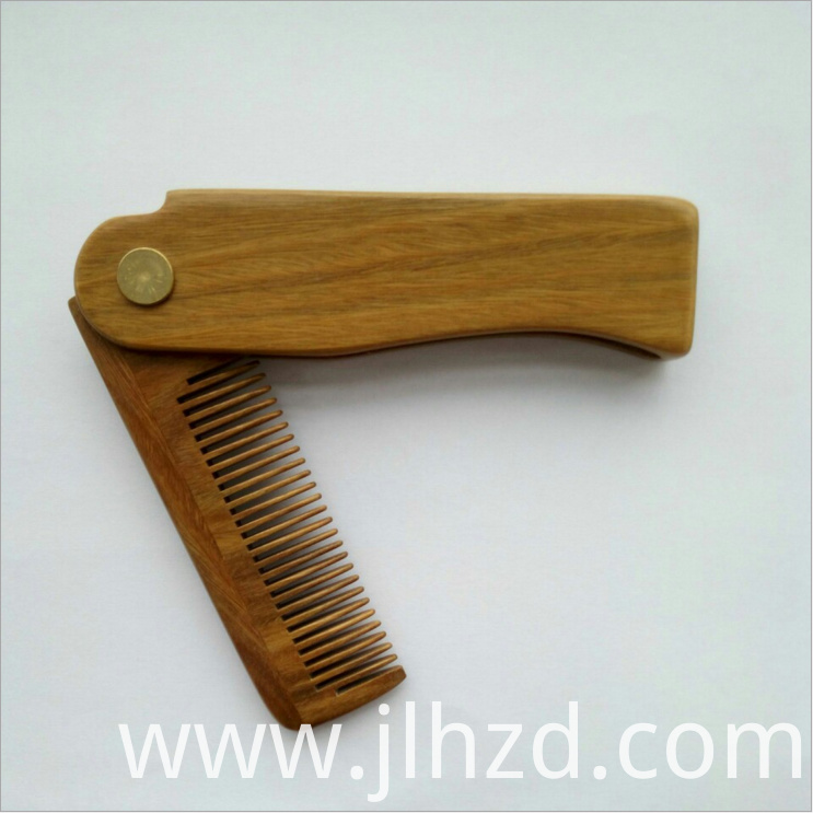 beard wood comb