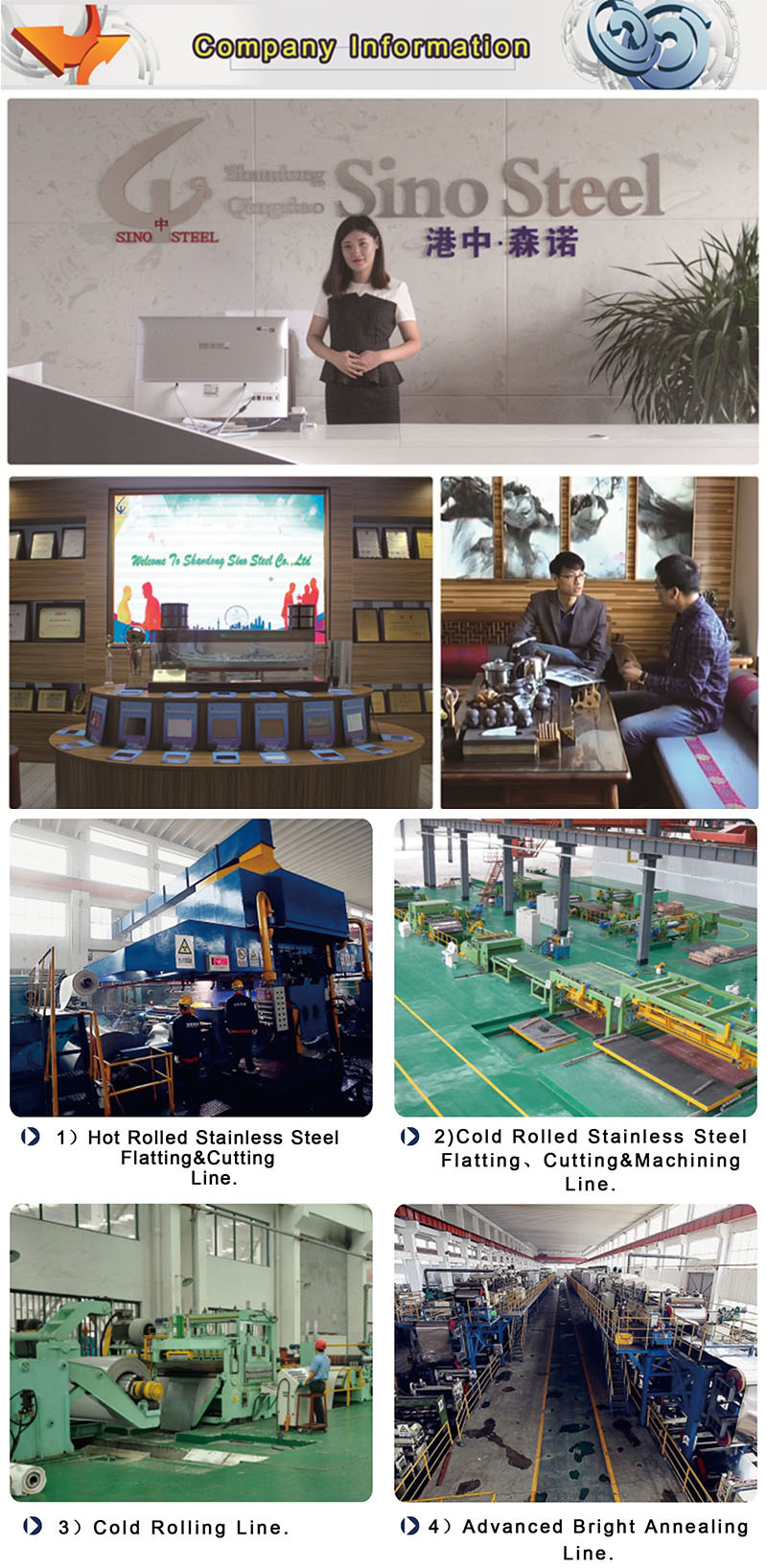 409L 2b Ba Surface Stainless Steel Sheet