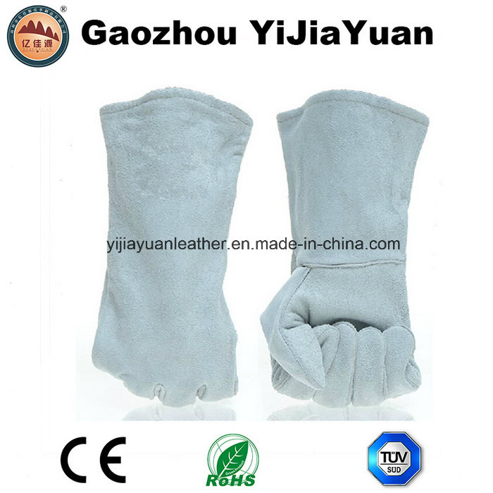 Cow Split Leather Safety Welding Hand Protective Gloves