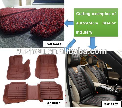 Ruizhou Car Floor Mat, Seat Cover CNC Cutting Machine
