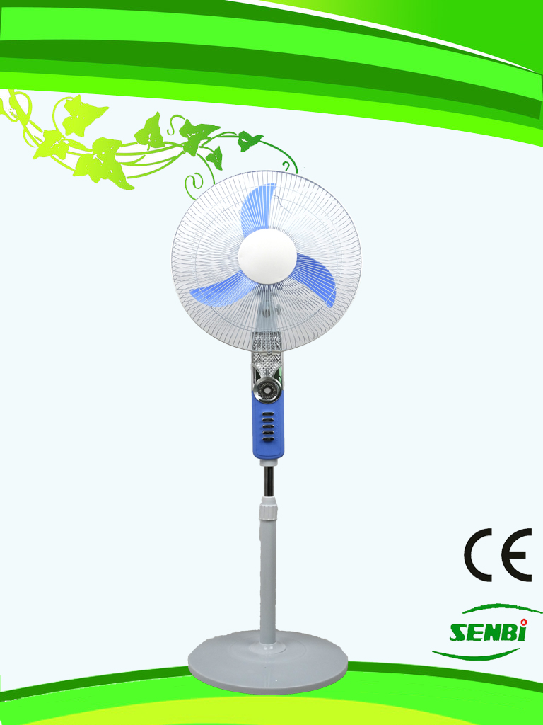 16inches Rechargeable Stand Fan 12V DC Fan FT-40DC-RM