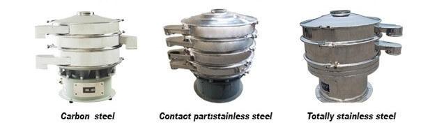 Rotary Metal Separator Screening Mining Equipment Vibrating Sieve Screen