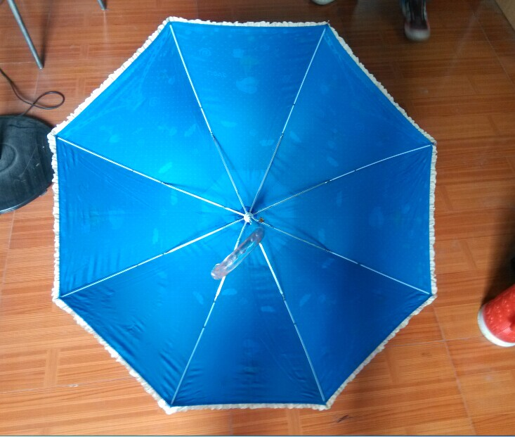 Lace Printing Straight Umbrella (JYSU-03)