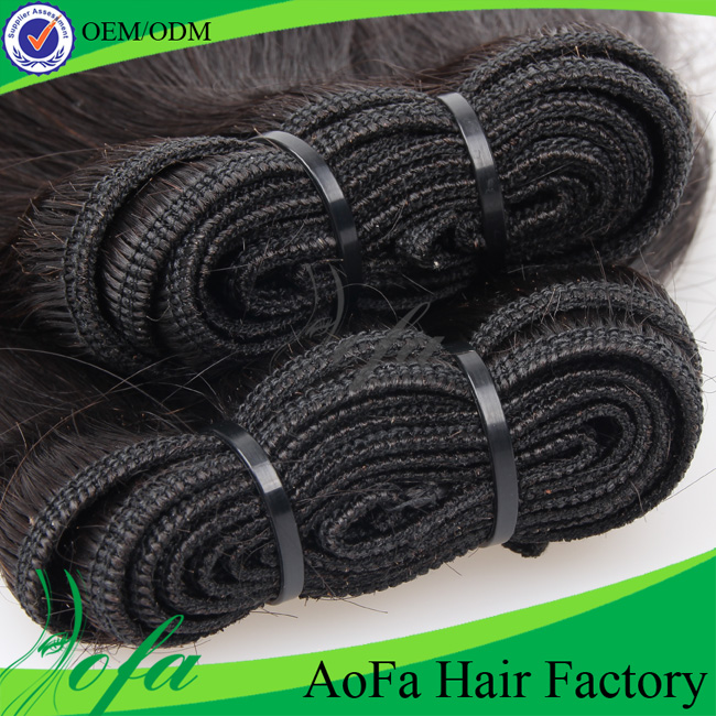 100% Unprocessed Natural Wave Virgin Hair Human Hair Extension