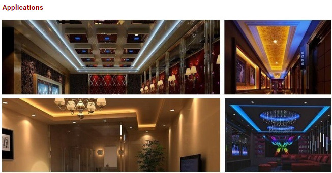 LED Wireless Non-Waterproof 60LEDs 2835 CRI90 Flexible Strip Light for Indoor