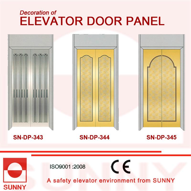 Hiarline Stainless Steel Door Panel for Elevator Cabin Decoration (SN-DP-337)
