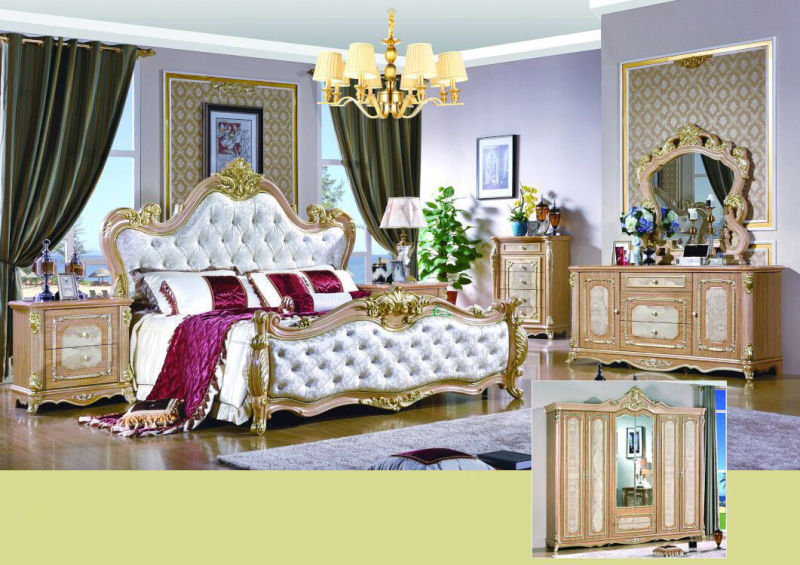Bedroom Bed Sets for Home Furniture (W813A)
