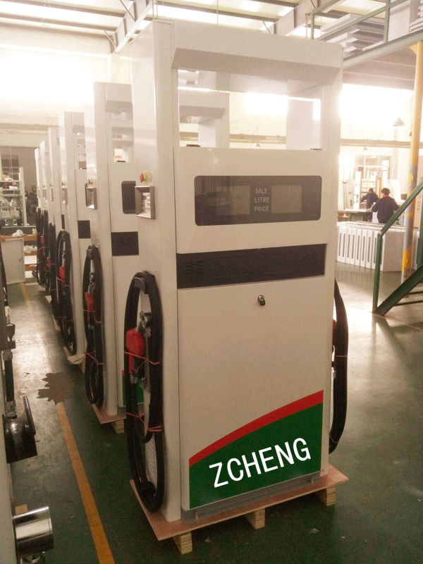 ZCHENG Double Nozzle Petrol Filling Station Fuel Dispenser