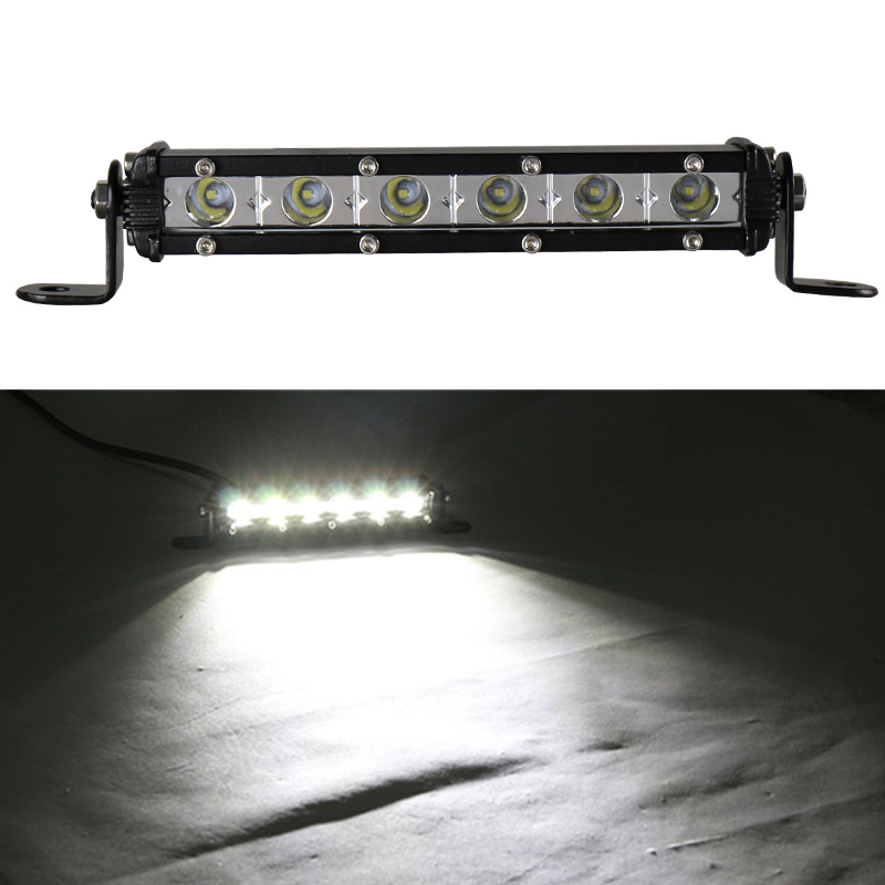 Powerful Slim LED Light Bar 18W LED Light Bar