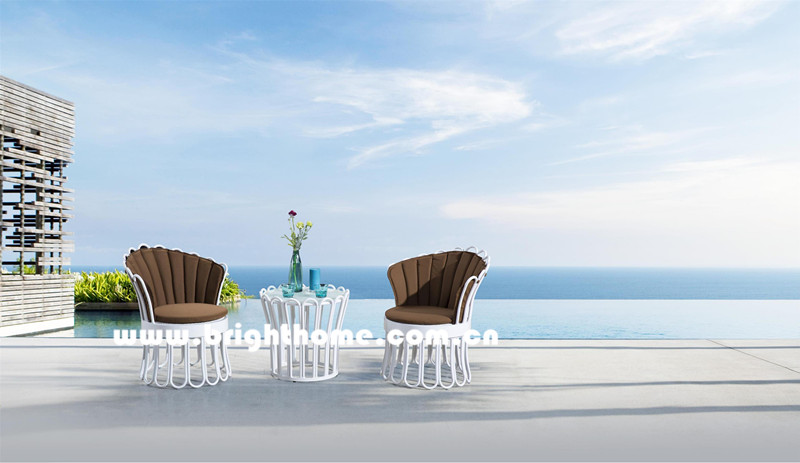 New Design Aluminum PE Rattan Outdoor Furniture Bp-3055