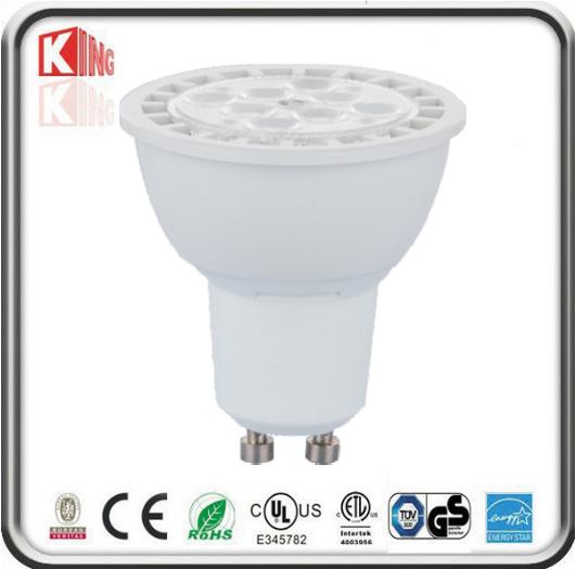 7W SMD LED GU10 MR16 E26 Spot with White Housing