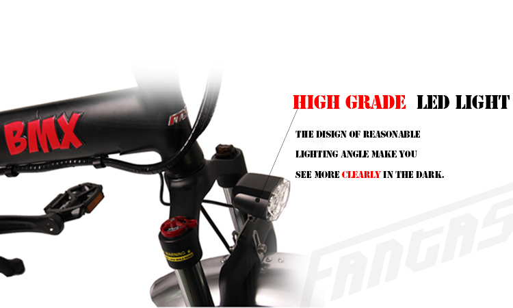 Fantas BMX Hulk 36V250W 20inches Mini Fat Tyre Electric Bike