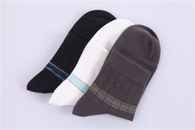 Men Business Dress Socks Cotton Socks Made From Fine Cotton in 200n