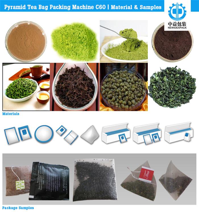 Pyramid Tea Bag Packing Machine (ND-C60)