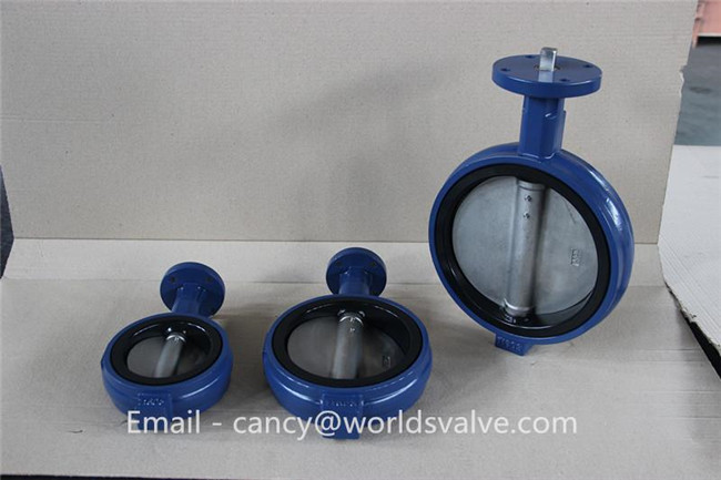 Handle Wafer Butterfly Valve with Pin (D7A1X-10/16)