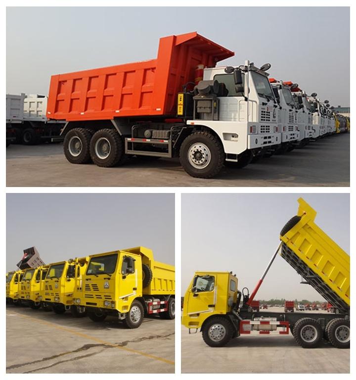 SINOTRUK HOWO 6X4 mining dump truck dumper tipper
