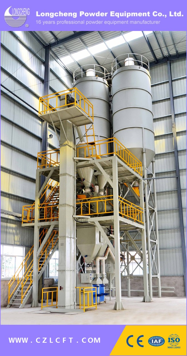 Dry Pre-Mixed Mortar Production Line