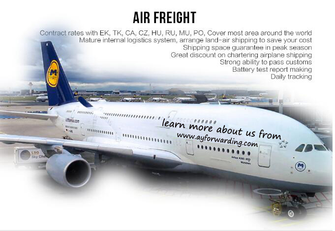 Fast Air Shipping to Yekaterinburg