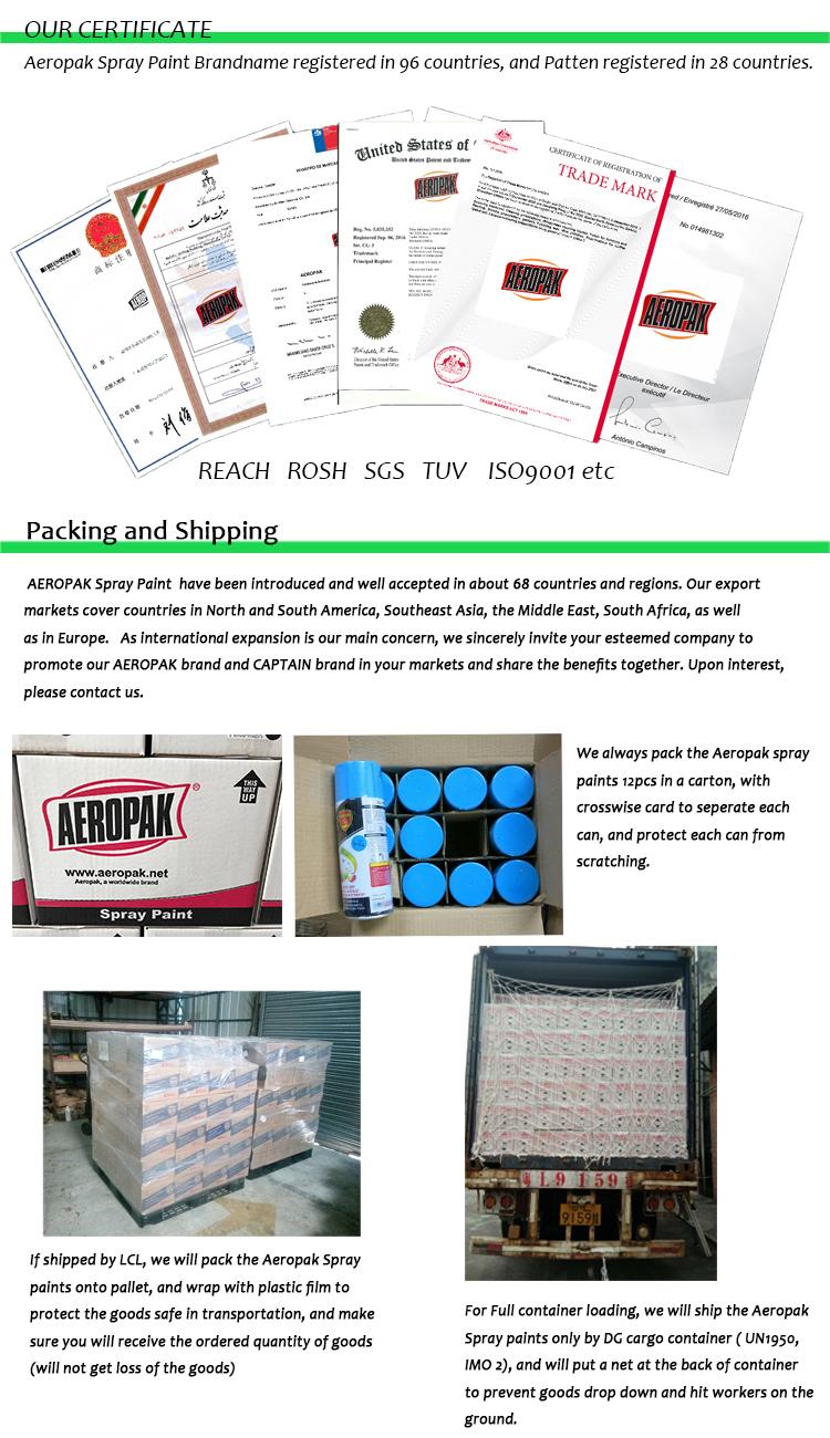 Aeropak Brand for Stops Squeak 500ml Multilube Lubricates Spray with RoHS Certificate