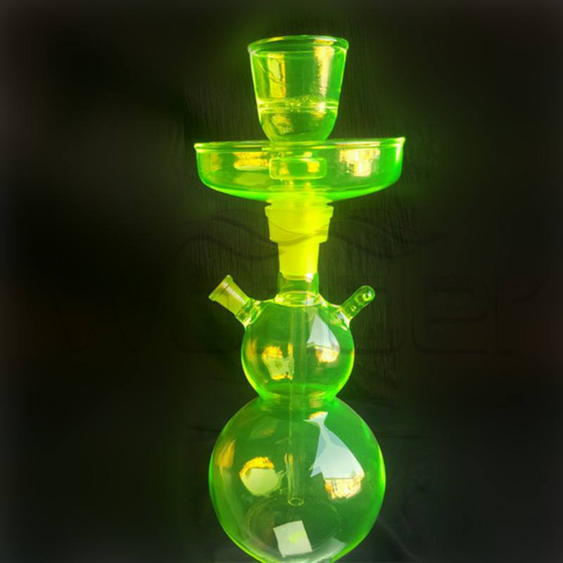 Unique Style Hookahs Green Color with OEM Service