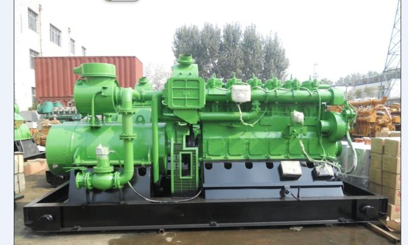China Famous Lvhuan 500kw Coal Bed Gas Generator Set with CHP System