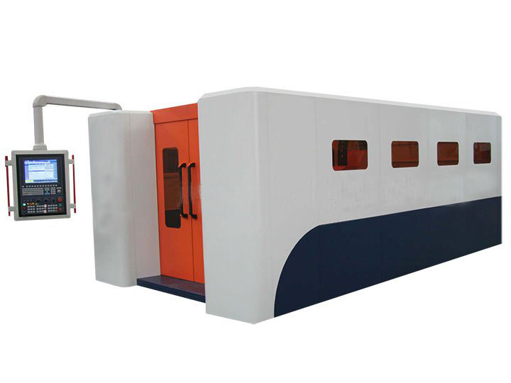 Professiona Protective Cover Stainless Steel/Brass/Aluminum/Iron/Copper Sheet Metal Fiber Laser Cutting Engraving CNC Machine