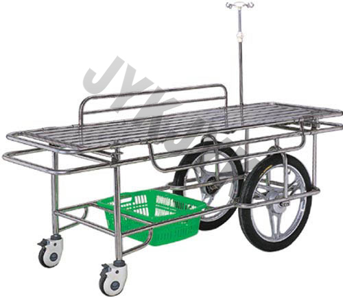 Stainless Steel Three-Function Stretcher Cart