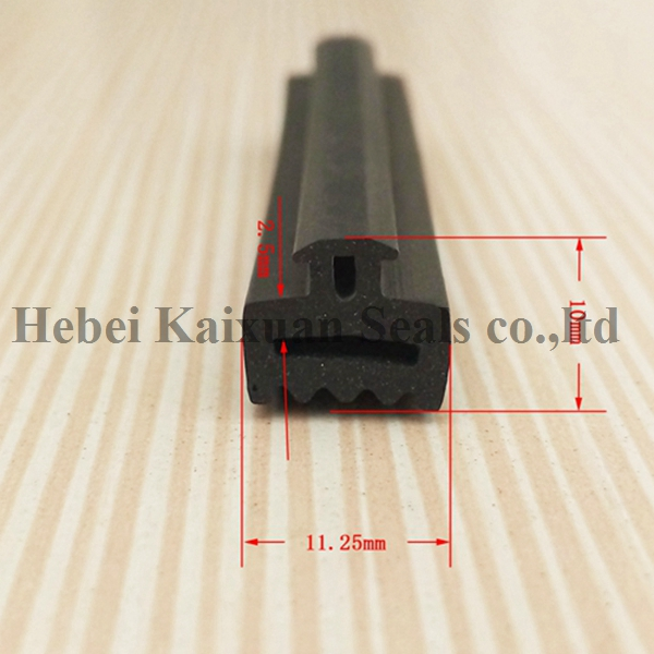 Rubber Extrusion Weather Strip Door Seal