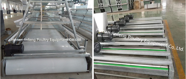Q235 Steel Wire Chicken Egg Layer Cage with Water Pipe