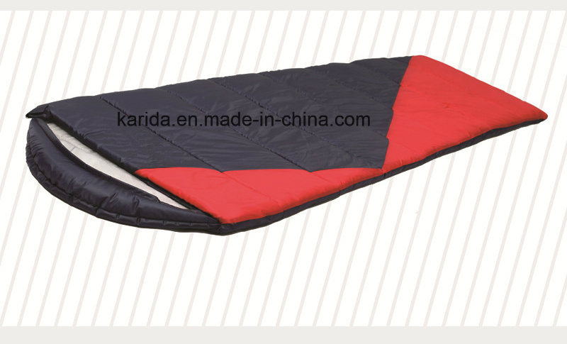 Polyester Mixed Color Cap Envelop Camping Sleeping Bag Sb2010