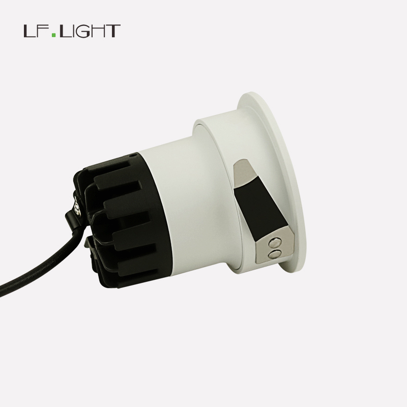 2018 Gorgeous COB Downlight Golden Anti Glare Cup Softer Light 5W 7W 70mm Cutout for Hotel Lighting