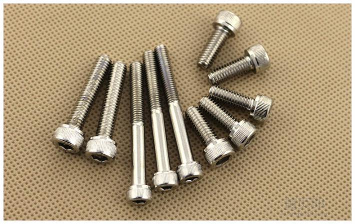 Stainless Steel Hex Socket Cap Head Bolt / Galvanized DIN 912 Inside Hexagonal Bolts
