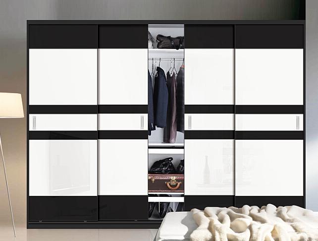 Modern Style 2 Sliding Door Wooden Closet (customized)