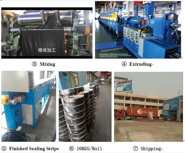 Rubber Gasket, Spare Parts, Rubber Parts, Extrusion Profile, Engine Parts