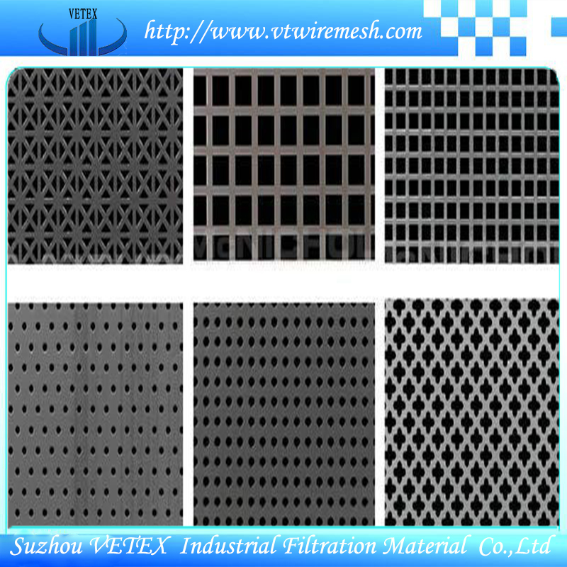Various Shapes of Perforated Wire Mesh