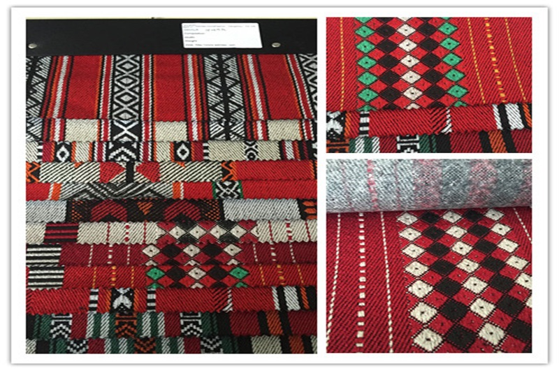 Jacquard Sadu Fabric for Furniture and Tent (EDM4658)