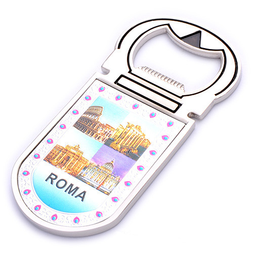 Promotional Gift Souvenir Photo Printing Logo Keychain Bottle Opener (F5038)