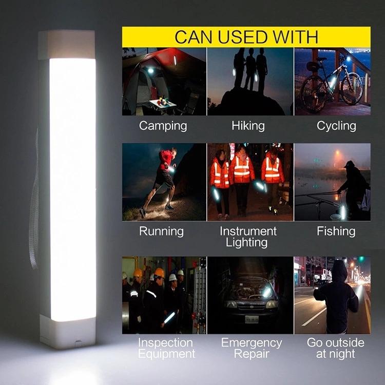 3W LED Light Functional Rechargeable SOS Tube Light