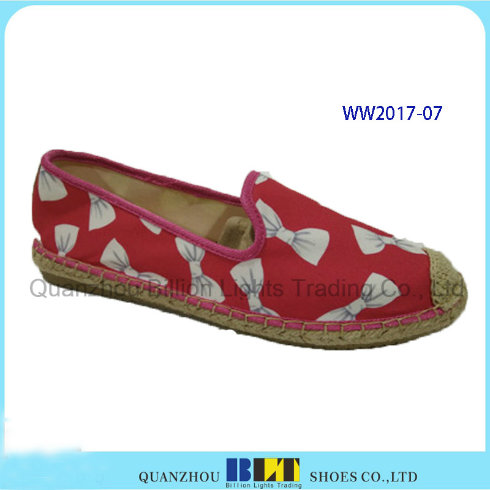 New Designer Women Casual Shoes with Lace Flowers