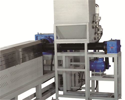Force Feeding Granulating Recycling Machine for PE Agglomerated Film